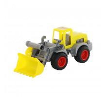Детская игрушка  трактор-погрузчик (в сеточке) КонсТрак арт. 44884. Полесье