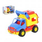 Детская игрушка автомобиль (в коробке) КонсТрак - фургон арт. 44754. Полесье
