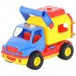 Машинка Полесье (в сеточке) КонсТрак - фургон арт. 0544