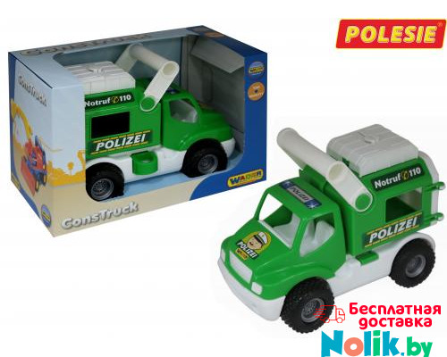 Детская игрушка автомобиль (в коробке) КонсТрак - полиция арт. 41906. Полесье в Минске