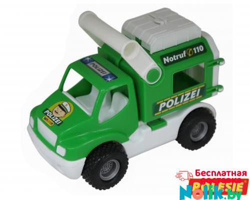 Детская игрушка автомобиль (в сеточке) КонсТрак - полиция арт. 0469. Полесье в Минске
