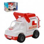 Детская игрушка автомобиль (в коробке) КонсТрак - скорая помощь арт. 41913. Полесье