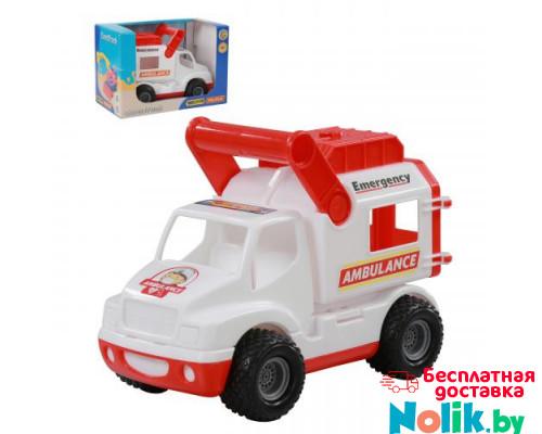 Детская игрушка автомобиль (в коробке) КонсТрак - скорая помощь арт. 41913. Полесье в Минске
