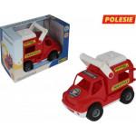 Детская игрушка автомобиль (в коробке) КонсТрак - пожарная команда арт. 41920. Полесье