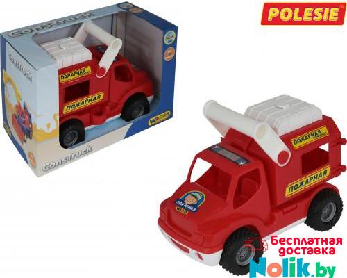 Детская игрушка автомобиль (в коробке) КонсТрак - пожарная команда арт. 41920. Полесье в Минске