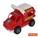 Детская игрушка автомобиль (в сеточке) КонсТрак - пожарная команда арт. 0506. Полесье