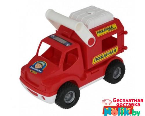 Детская игрушка автомобиль (в сеточке) КонсТрак - пожарная команда арт. 0506. Полесье в Минске