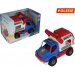 Автомобиль Полесье (в коробке) КонсТрак - спасательная команда арт. 41937
