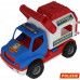 Детская игрушка автомобиль (в сеточке) КонсТрак - спасательная команда арт. 0537. Полесье в Минске