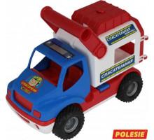 Детская игрушка автомобиль (в сеточке) КонсТрак - спасательная команда арт. 0537. Полесье