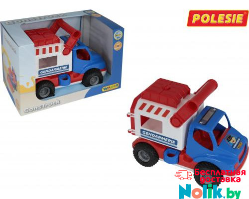 Детская игрушка автомобиль (в коробке) КонсТрак - жандармерия арт. 46536. Полесье в Минске