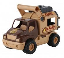 Детская игрушка автомобиль (в сеточке) КонсТрак - сафари арт. 41876. Полесье
