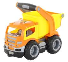 Детская игрушка автомобиль-самосвал (в сеточке) ГрипТрак арт. 6240. Полесье