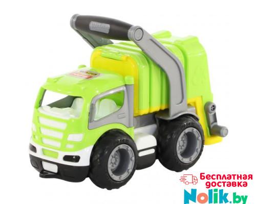 Детская игрушка автомобиль коммунальный, мусоровоз (в коробке) ГрипТрак арт. 37459. Полесье в Минске