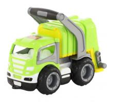 Детская игрушка автомобиль коммунальный, мусоровоз (в коробке) ГрипТрак арт. 37459. Полесье