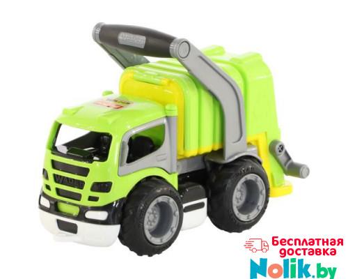 Детская игрушка автомобиль коммунальный, мусоровоз (в сеточке) ГрипТрак арт. 6257. Полесье в Минске
