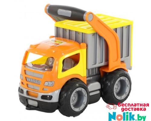Детская игрушка автомобиль-контейнеровоз (в сеточке) ГрипТрак арт. 0803. Полесье в Минске