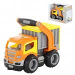 Детская игрушка автомобиль-контейнеровоз (в коробке) ГрипТрак арт. 37435. Полесье