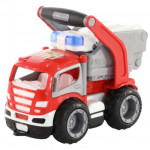 Детская игрушка автомобиль пожарный (в сеточке) ГрипТрак арт. 0872. Полесье