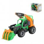 Детская игрушка  трактор-погрузчик (в коробке) ГрипТрак арт. 37367. Полесье