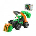 Детская игрушка  трактор-погрузчик с ковшом (в коробке) ГрипТрак арт. 37374. Полесье