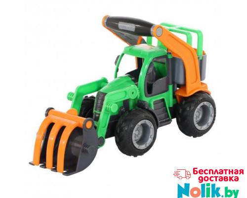 Детская игрушка  трактор-погрузчик (в сеточке) ГрипТрак арт. 48387. Полесье в Минске