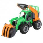 Детская игрушка  трактор-погрузчик (в сеточке) ГрипТрак арт. 48387. Полесье