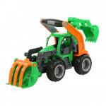Детская игрушка  трактор-погрузчик с ковшом (в сеточке) ГрипТрак арт. 48394. Полесье