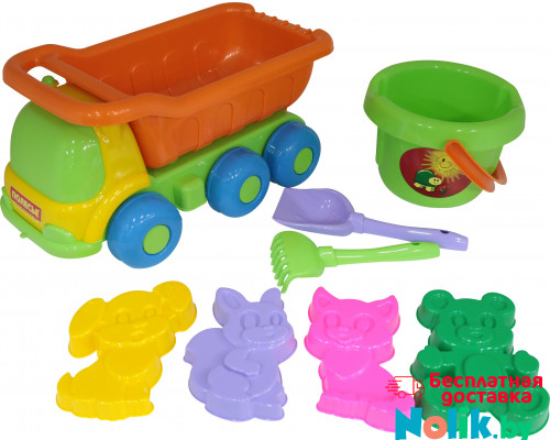 Детская игрушка автомобиль + набор №127 арт. 1671. Полесье в Минске