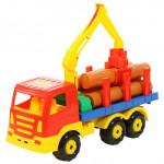 Детская игрушка автомобиль-лесовоз Престиж арт. 44198. Полесье