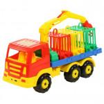 Детская игрушка автомобиль для перевозки зверей Престиж арт. 44204. Полесье