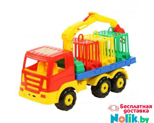 Детская игрушка автомобиль для перевозки зверей Престиж арт. 44204. Полесье в Минске