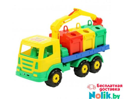 Детская игрушка автомобиль-контейнеровоз Престиж арт. 44181. Полесье в Минске