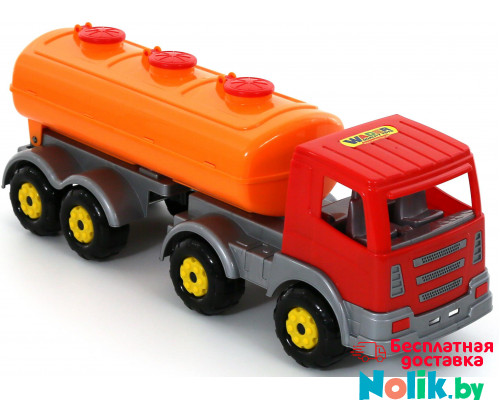 Детская игрушка автомобиль с полуприцепом-цистерной Престиж арт. 44235. Полесье в Минске