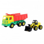 Детская игрушка автомобиль + набор №463 арт. 44914. Полесье