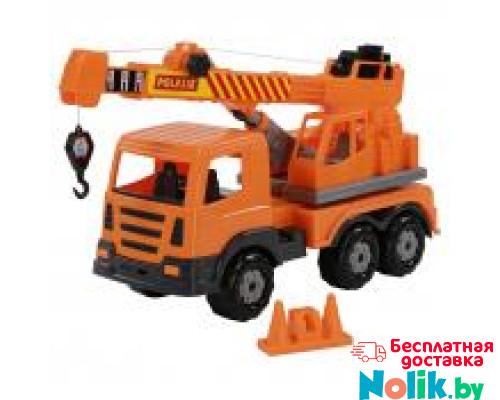 Детская игрушка автомобиль-кран №2 (в сеточке) Престиж арт. 70579. Полесье в Минске