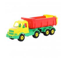 Детская игрушка автомобиль-самосвал с полуприцепом Сталкер арт. 44327. Полесье