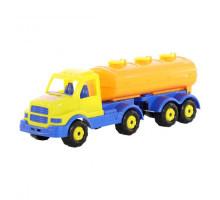 Детский автомобиль с полуприцепом-цистерной Сталкер арт. 44334. Полесье