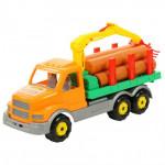 Детская игрушка автомобиль-лесовоз Сталкер арт. 44297. Полесье