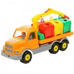 Детская игрушка автомобиль-контейнеровоз Сталкер арт. 44280. Полесье