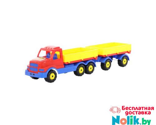 Детская игрушка автомобиль бортовой с прицепом Сталкер арт. 44259. Полесье в Минске