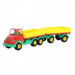 Детская игрушка автомобиль бортовой с прицепом Муромец арт. 44051. Полесье