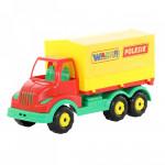 Детская игрушка автомобиль бортовой тентовый Муромец арт. 44068. Полесье