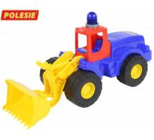 Детская игрушка  трактор-погрузчик с маячком Гранит арт. 41319. Полесье