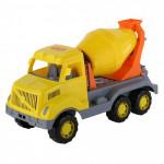 Детская игрушка автомобиль-бетоновоз Богатырь арт. 37350. Полесье