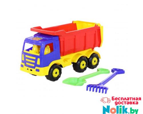 Детская игрушка автомобиль-самосвал + лопата и грабли большие Премиум арт. 9851. Полесье в Минске