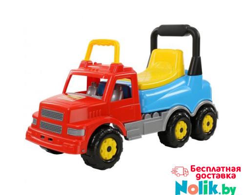 Детская игрушка  Каталка-автомобиль Буран №2 (красно-голубая) арт. 43801. Полесье в Минске