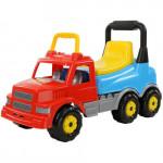 Детская игрушка  Каталка-автомобиль Буран №2 (красно-голубая) арт. 43801. Полесье