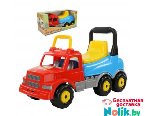Детская игрушка  Каталка-автомобиль Буран №2 (красно-голубая) (в коробке) арт. 67128. Полесье в Минске