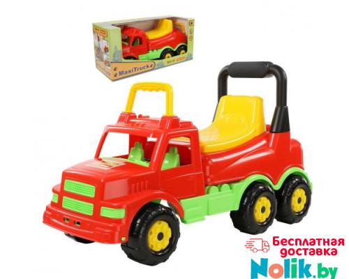 Детская игрушка  Каталка-автомобиль Буран №1 (красная) (в коробке) арт. 67210. Полесье в Минске
